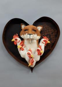 Fox  hens James Ort-5
