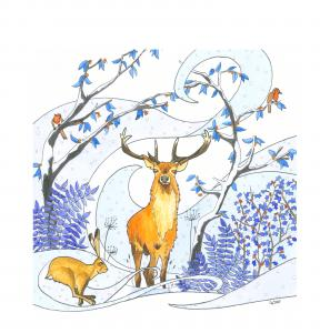 Winter Stag James ORT